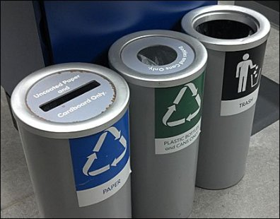 Recycling and Trash Cylinders Main